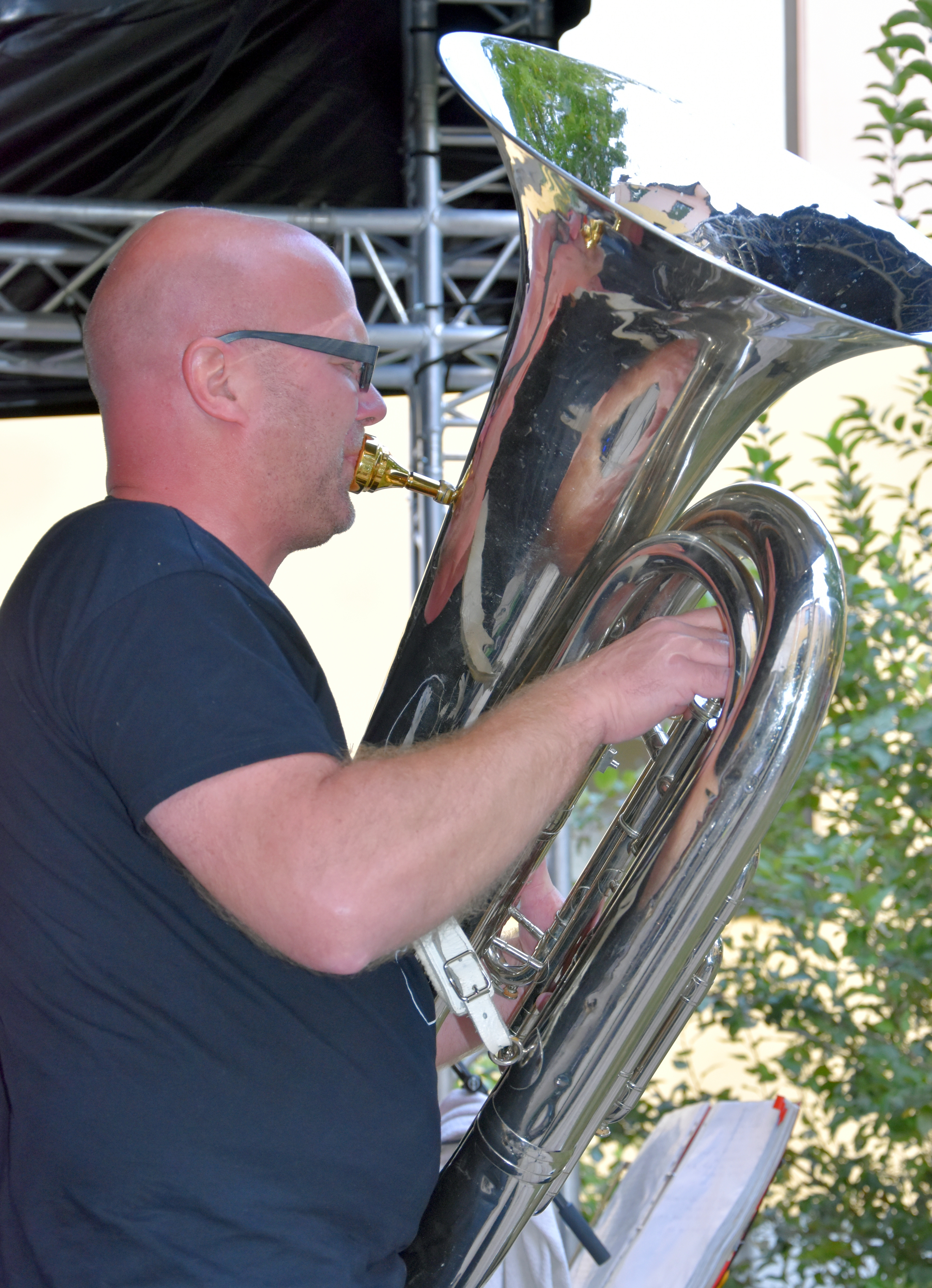 Tuba von Railroad Celebration. Foto: Senger